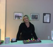 Begrüßung von der Inhaberin Yvonne Klein